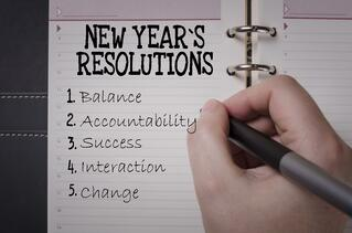 New Year's Resolution Voicebrook core values